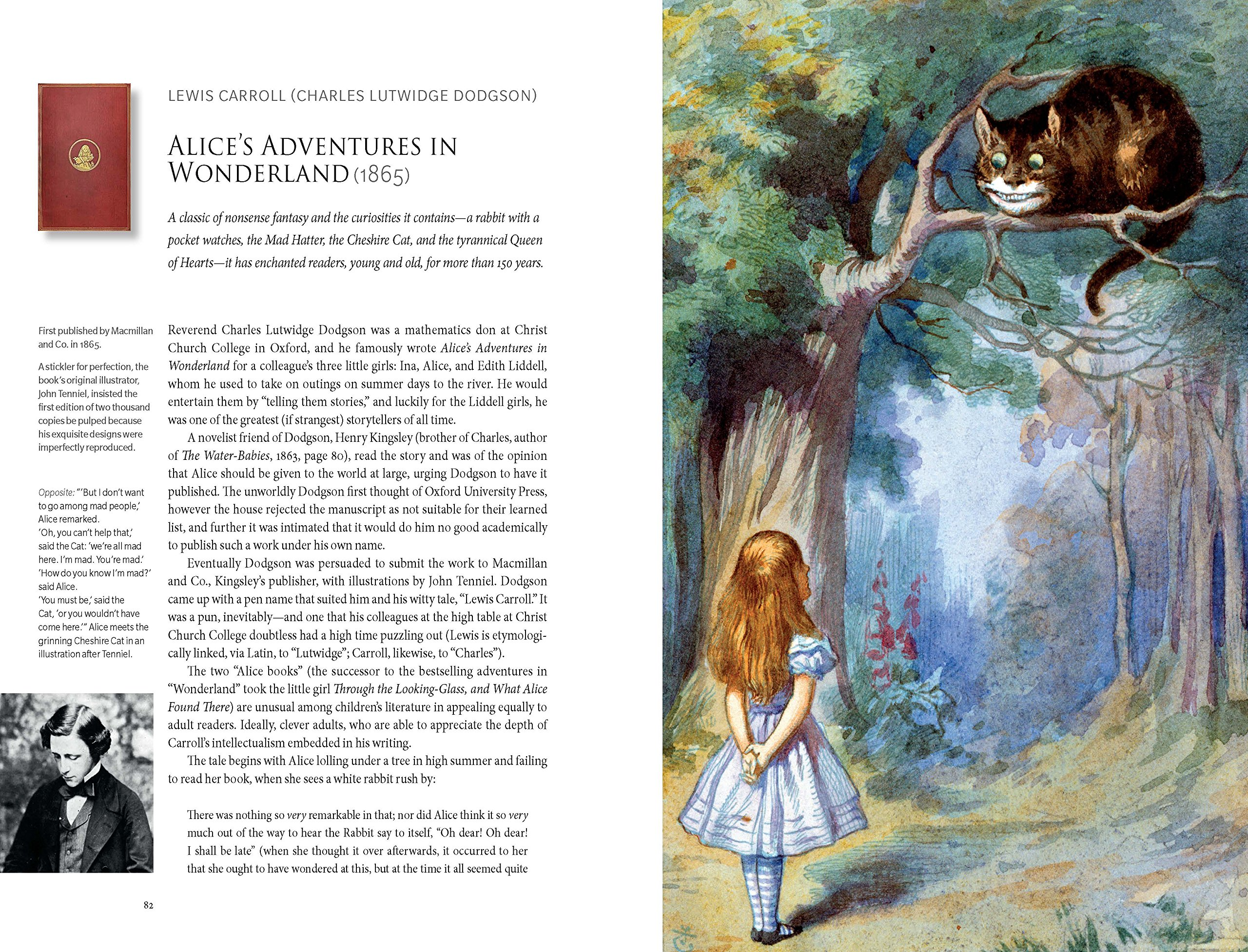 the fairy tales of lewis carroll and charles lutwidge dodgson Lewis carroll is the better-known pen name of lutwidge dodgson, an english author and mathematician he is remembered today for his books alice's adventures in wonderland and through the looking glass in the sisters grimm, he is implied to be an everafter historian like the brothers grimm.